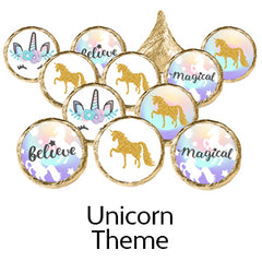 unicorn baby shower favors