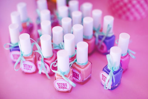 affordable baby shower favor idea nail polish