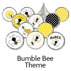 bumble bee baby shower favors