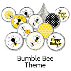 bumble bee birthday party favors