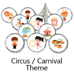 circus party favors