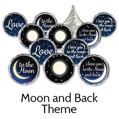 i love you to the moon and back baby shower favors