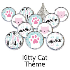 kitty cat birthday party theme