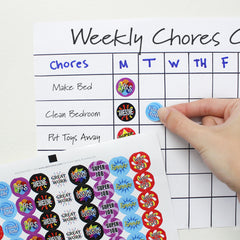 chore chart stickers for kids