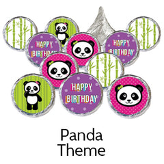 panda birthday party favors