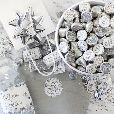 25th silver wedding anniversary party supplies and ideas