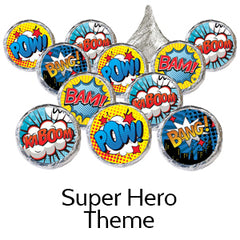super hero baby shower favors