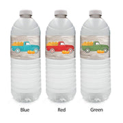 Fall Green Custom Autumn Fall Festival Water Bottle Labels - 12 Stickers