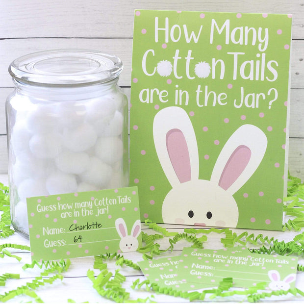 Easter How Many Cotton Tails Game