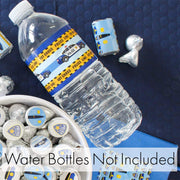 Police Birthday Party Water Bottle Labels - 24 Count