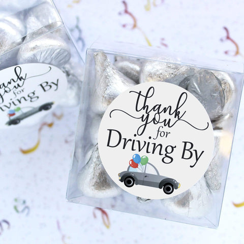 Thank you for Driving By Stickers - 40 Labels