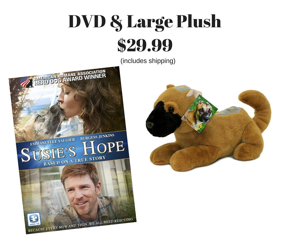Susie's Hope DVD / Large Plush Bundle