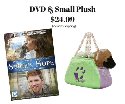 Susie's Hope DVD / Small Plush Bundle