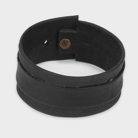 Leather and Tire cuff