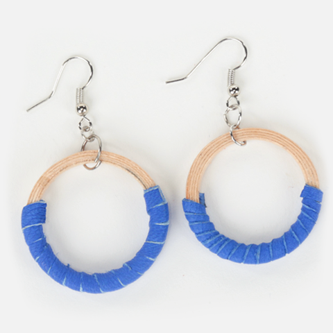 Small Hispaniola Hoop Earrings