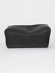 Inner tube Kenneth Cole Dopp Kit with zipper closure, by deux mains. Front view.