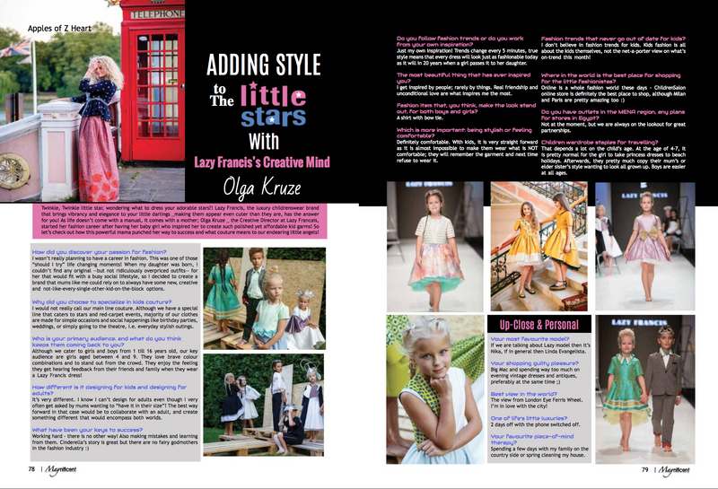 Adding Style to the Little Stars | Getaway Issue by Magnificent Magazine