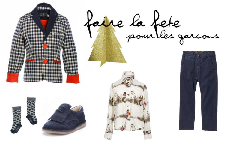Christmas Party Outfit | Les enfants à Paris