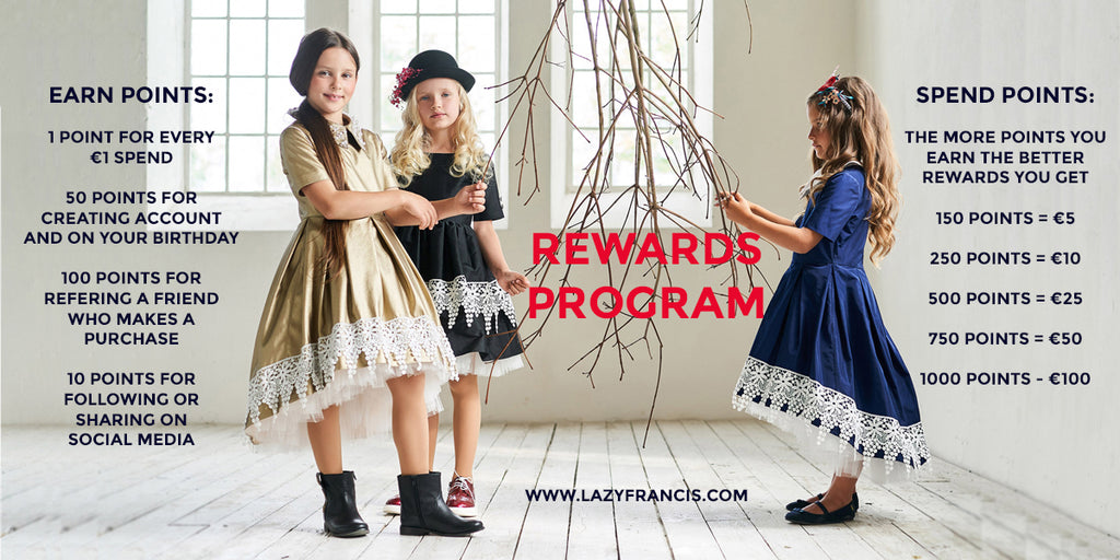 Lazy Francis Loyalty Rewards Program - Lazy Club