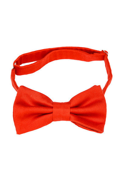 Red Bow Tie - LAZY FRANCIS - Shop in store at 406 Kings Road, Chelsea, London or shop online at www.lazyfrancis.com