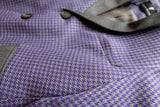 Purple and Grey Boys Suit - LAZY FRANCIS - Shop in store at 406 Kings Road, Chelsea, London or shop online at www.lazyfrancis.com