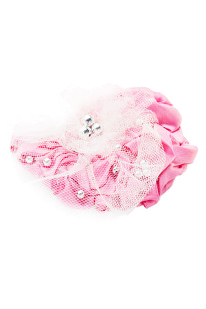 Precious Flower Pink Fascinator - LAZY FRANCIS - Shop in store at 406 Kings Road, Chelsea, London or shop online at www.lazyfrancis.com