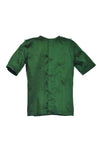 Dark Green Silk Dragon Boys Shirt - LAZY FRANCIS - Shop in store at 406 Kings Road, Chelsea, London or shop online at www.lazyfrancis.com
