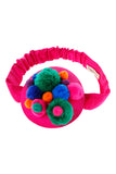 lazy francis Pink Bubble Headwrap colorful girls accessory