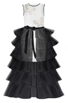Wow! Black Princess Butterfly Girls Maxi Tutu Skirt