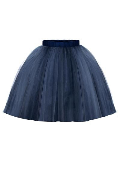 Navy Blue Marie Girls Tutu Skirt - LAZY FRANCIS - Shop in store at 406 Kings Road, Chelsea, London or shop online at www.lazyfrancis.com