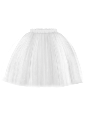 Off White Marie Girls Tutu Skirt - LAZY FRANCIS - Shop in store at 406 Kings Road, Chelsea, London or shop online at www.lazyfrancis.com