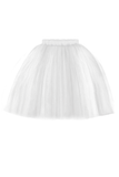 Marie Girls Tutu Skirt in White - LAZY FRANCIS - Shop in store at 406 Kings Road, Chelsea, London or shop online at www.lazyfrancis.com