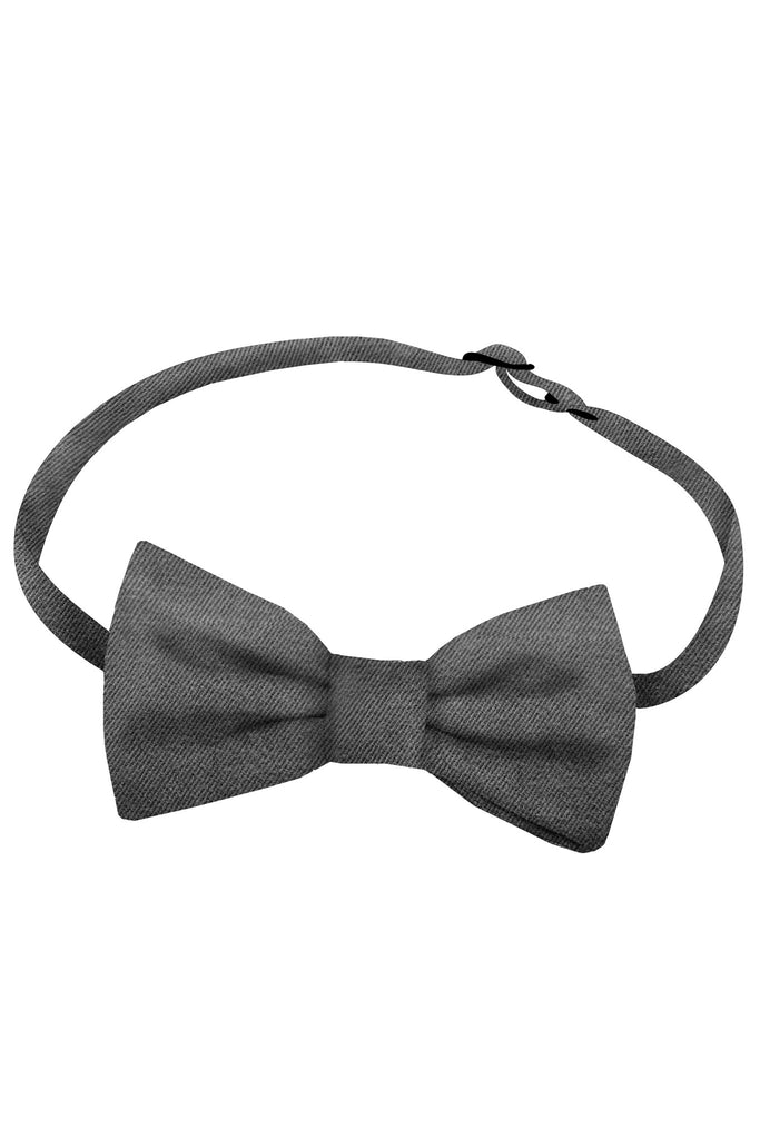 Grey Bow Tie - LAZY FRANCIS - Shop in store at 406 Kings Road, Chelsea, London or shop online at www.lazyfrancis.com