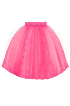 Fuchsia Félicie High-Low Girls Tutu Skirt - LAZY FRANCIS - Shop in store at 406 Kings Road, Chelsea, London or shop online at www.lazyfrancis.com
