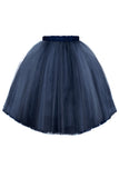 Félicie High-Low Girls Tutu Skirt in Navy Blue - LAZY FRANCIS - Shop in store at 406 Kings Road, Chelsea, London or shop online at www.lazyfrancis.com