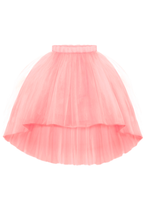 Blush Pink Félicie High-Low Girls Tutu Skirt - LAZY FRANCIS - Shop in store at 406 Kings Road, Chelsea, London or shop online at www.lazyfrancis.com