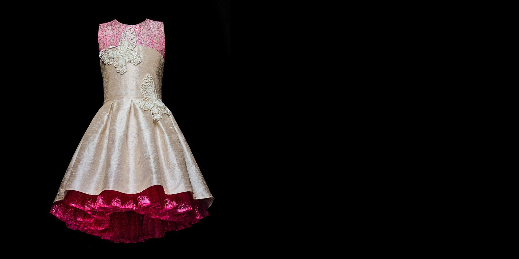 Custom made bespoke dresses for girls by Lazy Francis