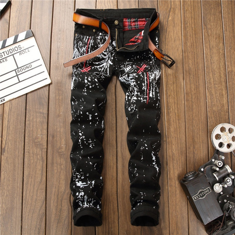 Jeans Denim Stretch Garments Mens Man Wearing Jeans Pants- Latest Design