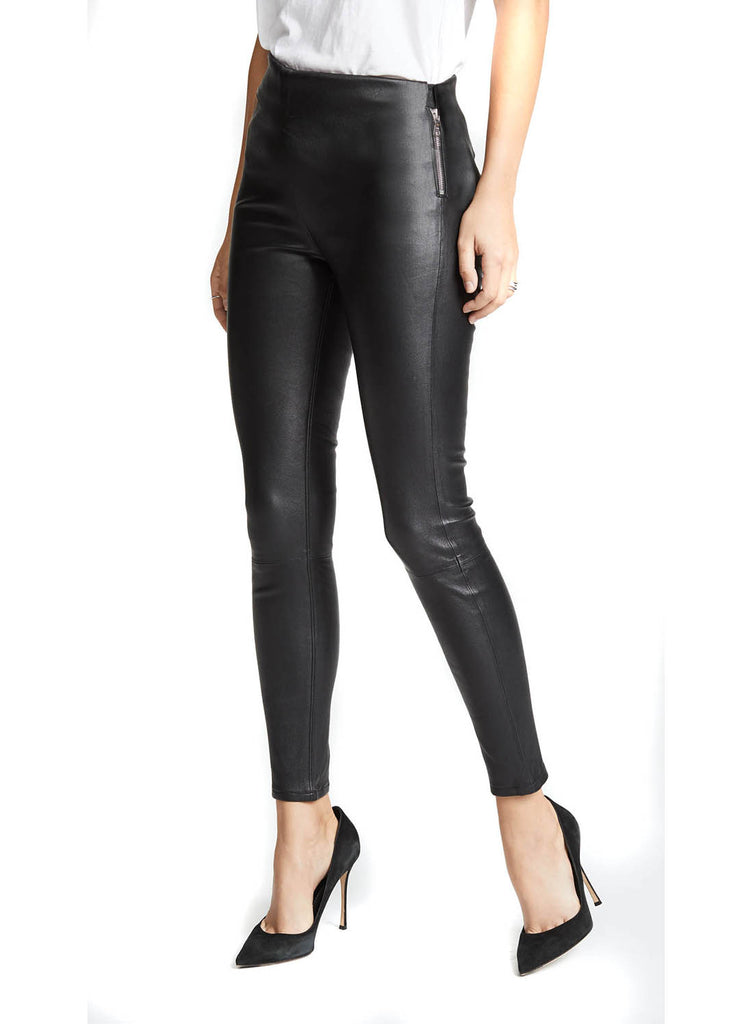 Limca Stretch leather Leggings
