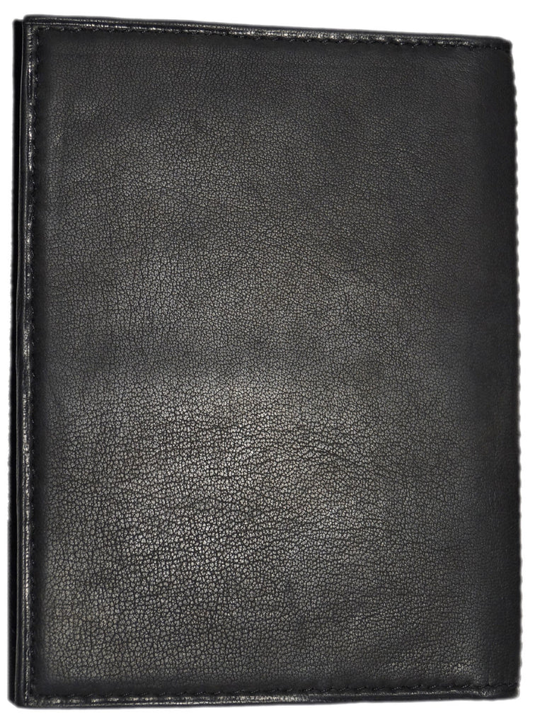 Basic Real Leather Passport and Card Holder , Card Holder/Passport Holder/Cheque Book Holder - CrabRocks, LeatherfashionOnline  - 6