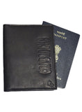 Basic Real Leather Passport and Card Holder , Card Holder/Passport Holder/Cheque Book Holder - CrabRocks, LeatherfashionOnline  - 2
