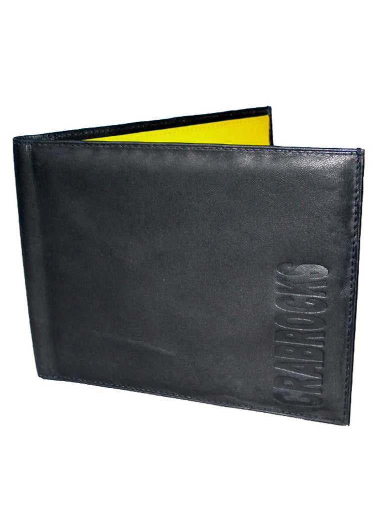 Long Leather Passport Holder , Card Holder/Passport Holder/Cheque Book Holder - CrabRocks, LeatherfashionOnline  - 1