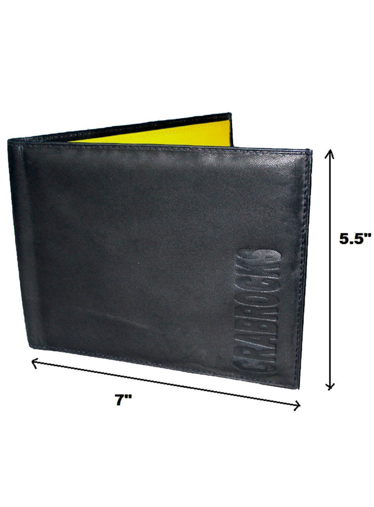Long Leather Passport Holder , Card Holder/Passport Holder/Cheque Book Holder - CrabRocks, LeatherfashionOnline  - 4