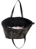 Women Leather Laser cut Shopper Bag , Ladies Bag - CrabRocks, LeatherfashionOnline  - 3