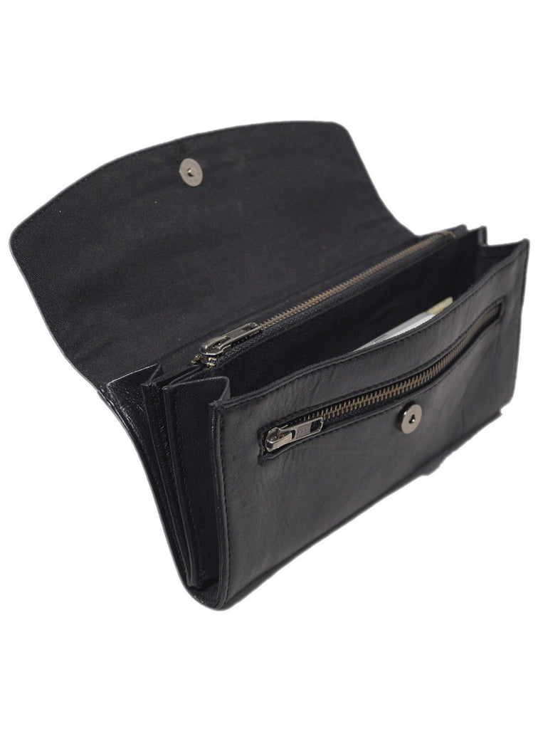 Women Leather Casual Classic Clutch Bag , Clutch Bag - CrabRocks, LeatherfashionOnline  - 5