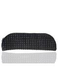 Women Quilted and Puffed Leather Clutch Bag One Size / Black / Lamb Leather, Clutch Bag - CrabRocks, LeatherfashionOnline  - 1