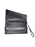 Women Leather Clutch Bag cum Hand Bag , Clutch Bag - CrabRocks, LeatherfashionOnline  - 4