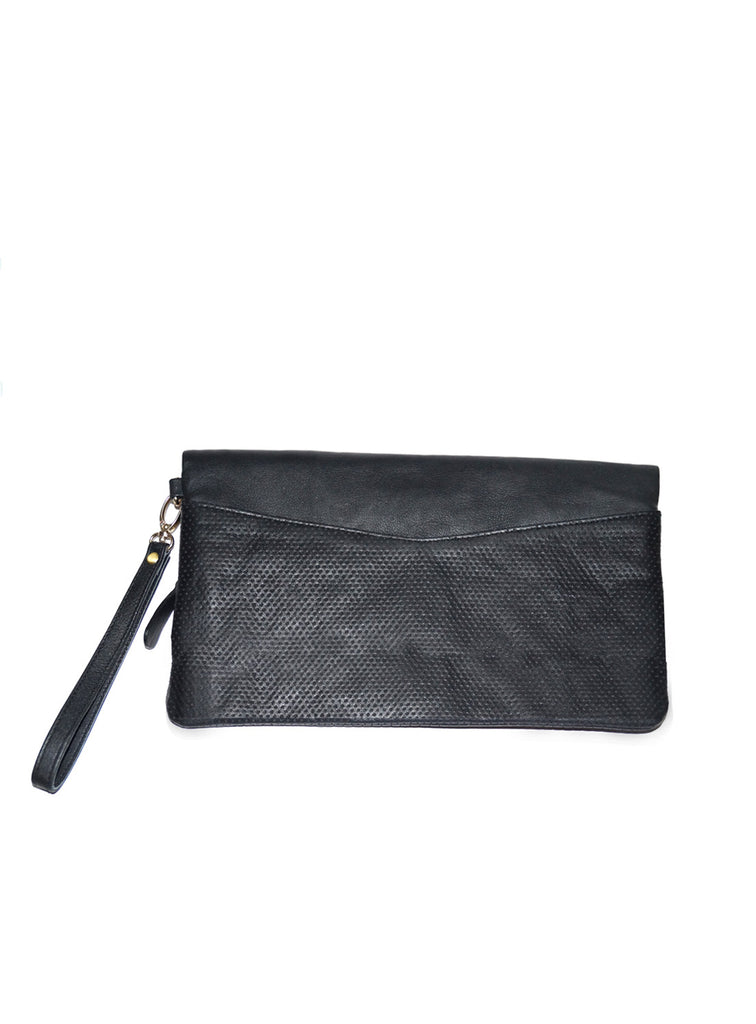 Women Leather Clutch Bag cum Hand Bag , Clutch Bag - CrabRocks, LeatherfashionOnline  - 2