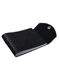 Leather Croco Embossed Personal Journal/ Diary , Accessories - CrabRocks, LeatherfashionOnline  - 2