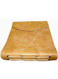 Leather Crunch Short Personal Journal/ Diary , Accessories - CrabRocks, LeatherfashionOnline  - 2